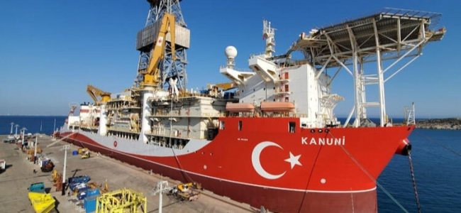 Kanuni Gemisi Sondaja 2021'de Başlayacak