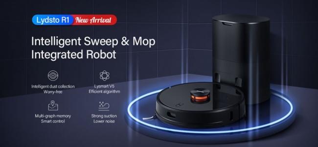 Lydsto Kendi Tozunu Kendisi Temizleyen Robot Süpürge - akıllı robot süpürgeler için yeni bir çağ başlatıyor