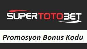 Süpertotobet Bonus Promosyon Kodları