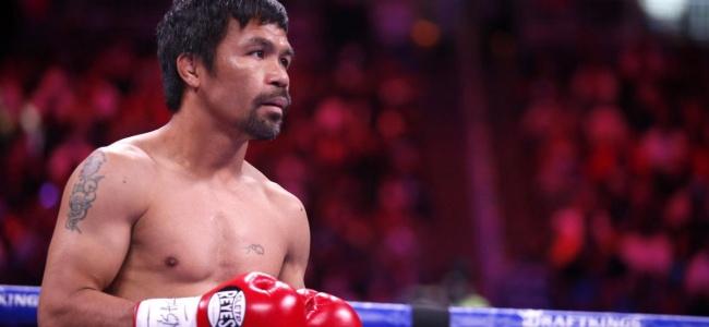 Pacquiao boksu bıraktı